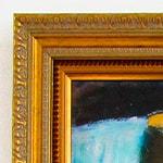оформление картины на холсте в багет