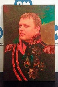 Портрет мужчины в военной форме