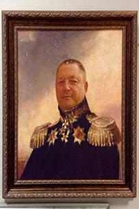 Портрет мужчины в образе генерала