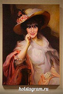 Элегантный женский портрет