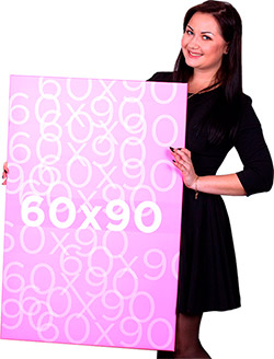 картина на холсте 60x90 от holstagram.ru
